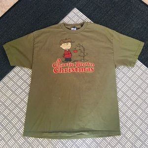 Peanuts A Charlie Brown Christmas T-shirt M's XL.